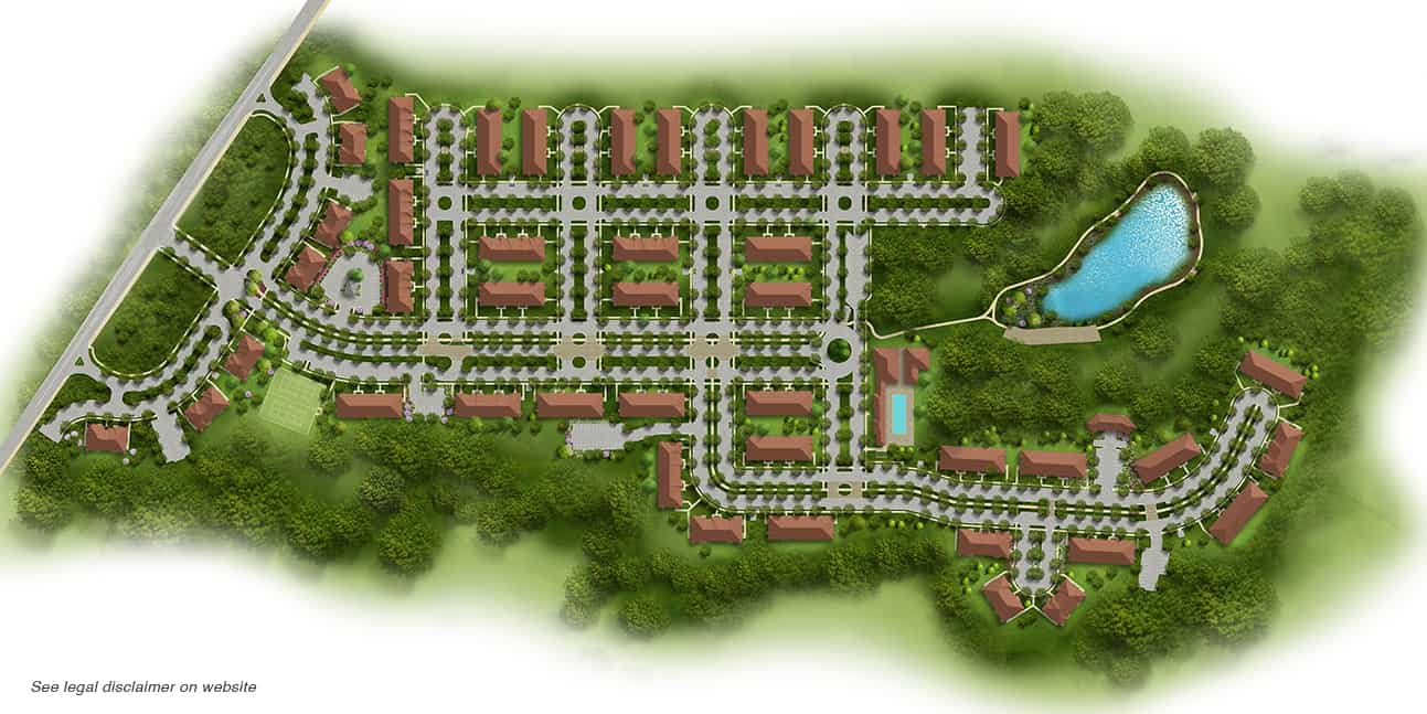 Gardens at Jackson Twenty-One community site plan