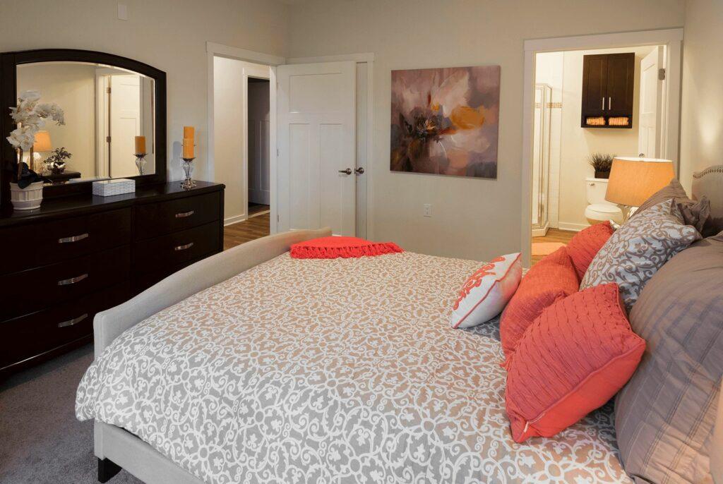 Jackson 21 Apartments Interior Bedroom
