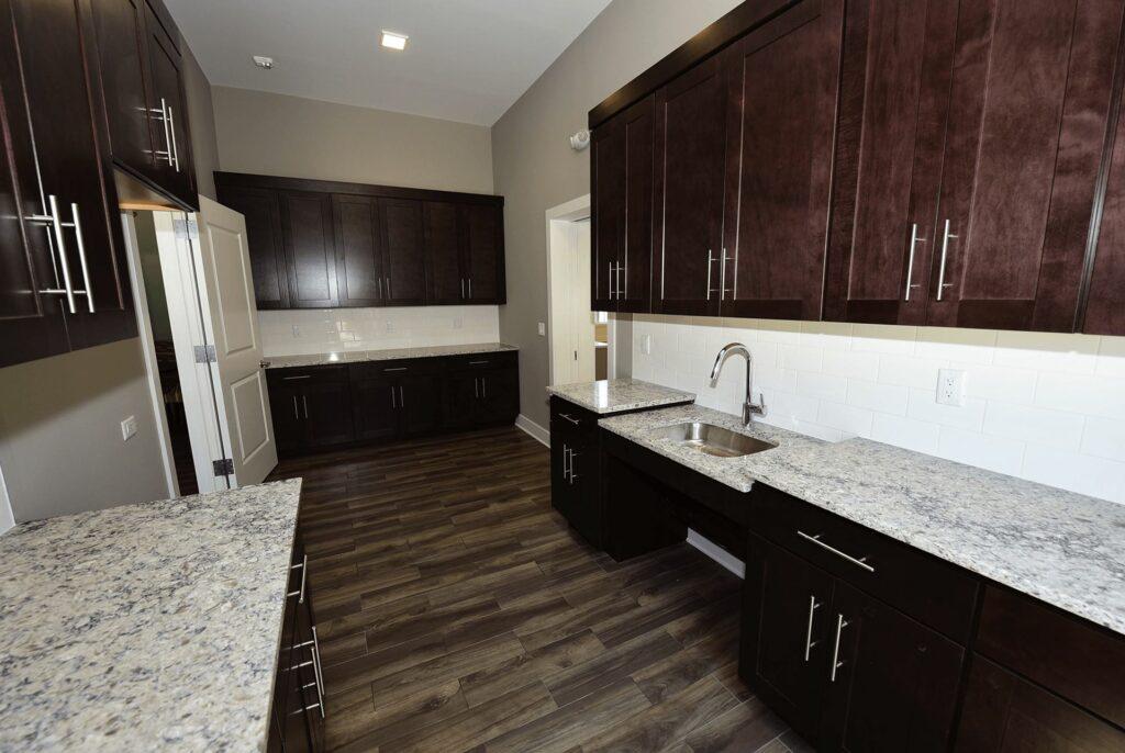 Jackson 21 Apartments Clubhouse Kitchen