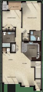 Unit A-2 floor plan